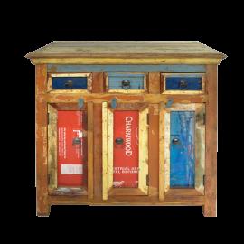 Dřevěná skříňka Colors