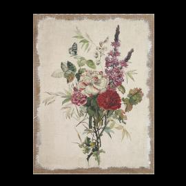 Obraz vintage květiny