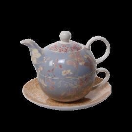 Čajová konvička se šálkem