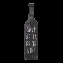 Dekorace Šetři vodu, pij víno