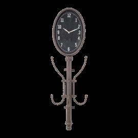 Věšák s hodinami