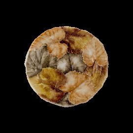 Listy talíř kulatý velký