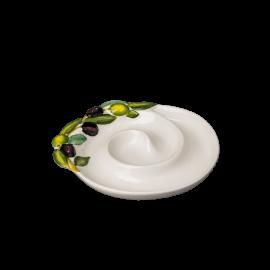 Talířek na olivy tvar šnek