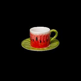 Meloun šálek s podšálkem