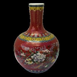 Váza Parvati červená