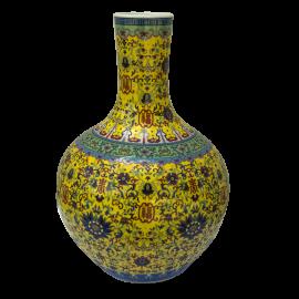 Váza Parvati žlutá