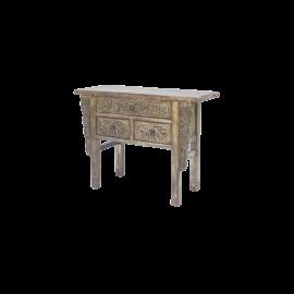 Odkládací stolek Horatius vyřezávaný