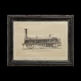 Nástěnný obraz Vlak