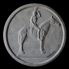 Nástěnný medailon Indián