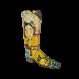 Váza Kelly Rae Kovbojská bota B