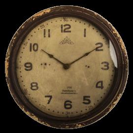 Nástěnné hodiny hnědé