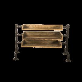 Botník dřevěný Sohu 3 patra