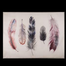 Obraz barevné peří