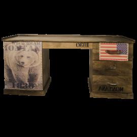 psací stůl grizzly bear obal