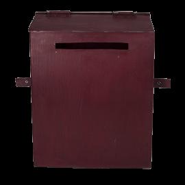 Poštovní schránka letter red