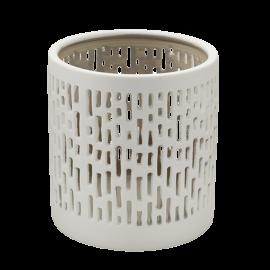 Svícen porcelánový bílá