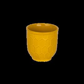 Kelímek Včelí plástev žlutá