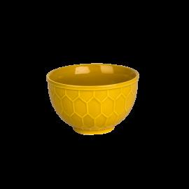 Miska Včelí plástev žlutá