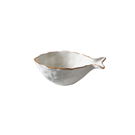 Miska Rybka malá - krémová