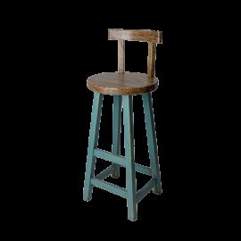 Barová židle Prudent modrá