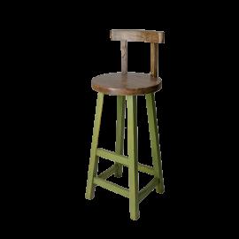 Barová židle Prudent zelená