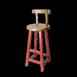 Barová židle Prudent červená