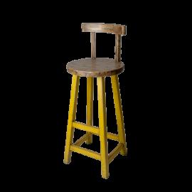 Barová židle Prudent žlutá