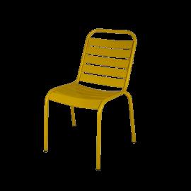 Kovová židle Nayana Yellow