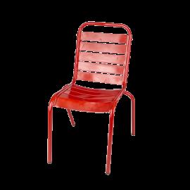 Kovová židle Nayana Red