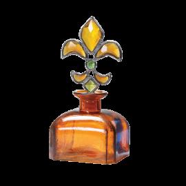 Dekorativní lahev Ankita hnědá