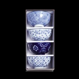 Porcelánové misky modré