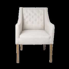 Židle Alberto - krémová 22
