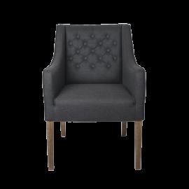Židle Alberto - antracit 95