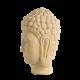 Buddha socha - hlava strana