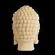 Buddha socha - hlava zada