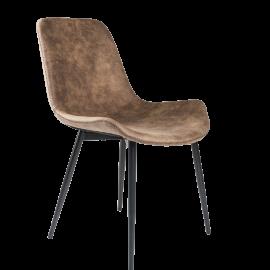 Židle Biaggi hnědá