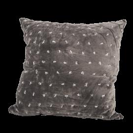 Polštář Charcoal- šedý