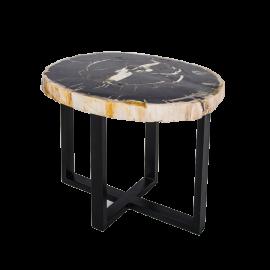 Odkládací stolek Stone - kulatý