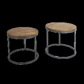 Kulatý stolek - set 2ks