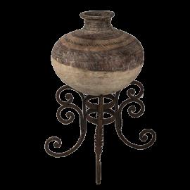 Váza na stojanu Antika