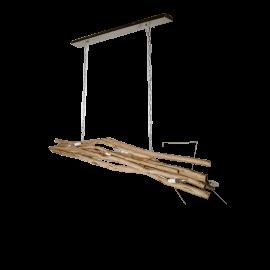 Dřevěný lust