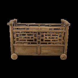 Vozík dřevěný