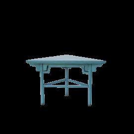 Odkládací stůl Triangl antik modrá