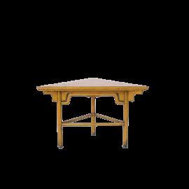 Odkládací stůl Triangl antik žlutá