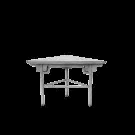 Odkládací stůl Triangl antik bílá