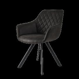 Židle Pagani tm.šedá