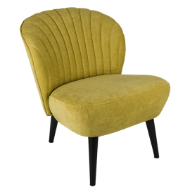 Křeslo Bardolino - žlutá 40
