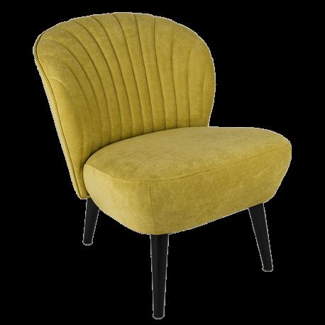 Křeslo Bardolino - žlutá obal