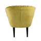 Křeslo Bardolino - žlutá záda