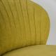 Křeslo Bardolino - žlutá detail